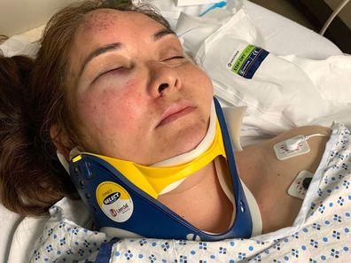Mum beaten by son's bully