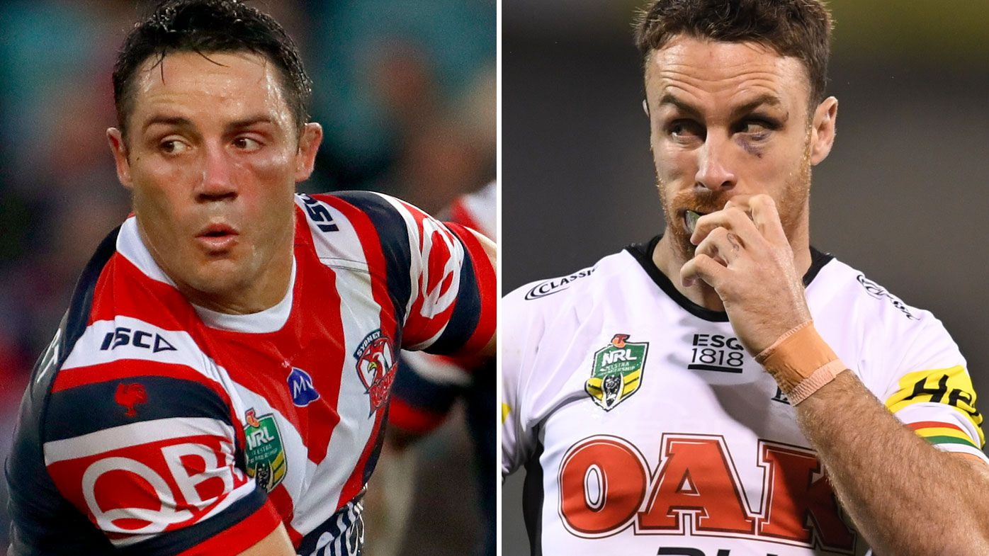 Cooper Cronk and James Maloney