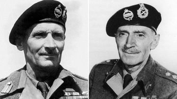 Bernard Montgomery (left) and ME Clifton James looked remarkably like each other.