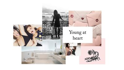 Inspired by Julia Resoin Roitfeld, for the woman that is youthful in outlook, fun and bubbly.