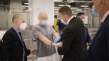 Two men have been extradited to Sydney from Dubai.