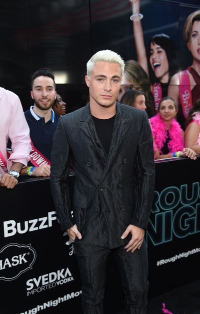 Colton Haynes&nbsp;at the premiere of<em> Rough Night</em> in New York.