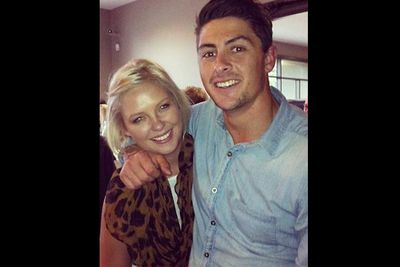 Gabby and Mitch at a family function, posted online on June 4, 2012. If <i>The Shire</i> is set last summer, then it's safe to say they get back together. If it was shot more recently, then they never broke up... 'Dramality' indeed.