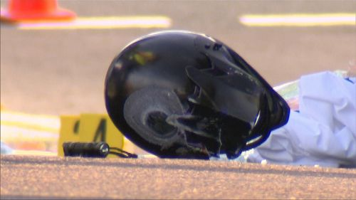 A rider died at the scene.