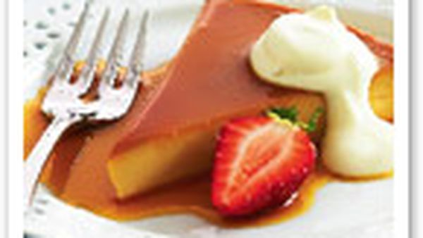Irish cream liqueur creme caramel