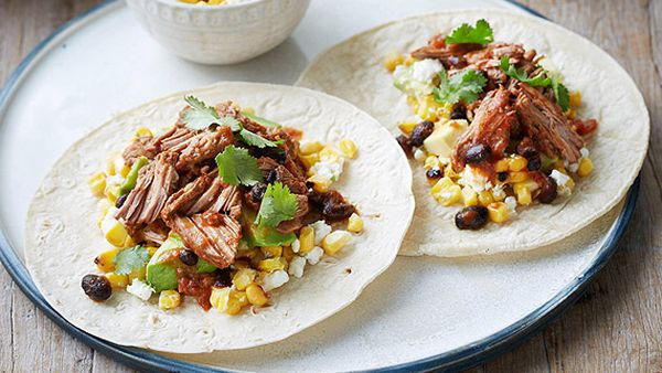 Eamon Sullivan's spicy beef chuck tacos