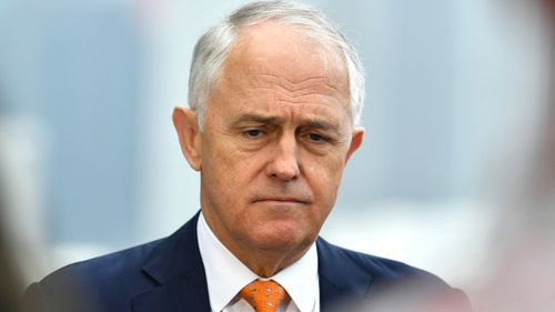 Three days into the new year, Malcolm Turnbull is already facing dissent from within his own party.