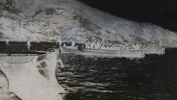 Some of the pictures in the collection include the Gallipoli Landing in 1915.
