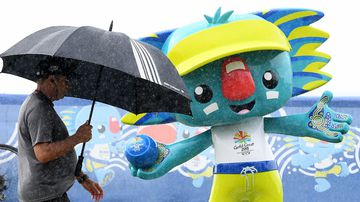 Pack your ponchos:  Showers predicted for Opening Ceremony