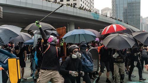 Hong Kong protests September 29