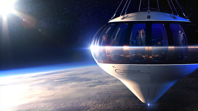 Spaceship Neptune: A Florida company is planning to fly passengers to the edge of space in a high-tech version of a hot air balloon, with a pilot and up to eight travelers riding in a pressurized capsule suspended from an enormous blimp.