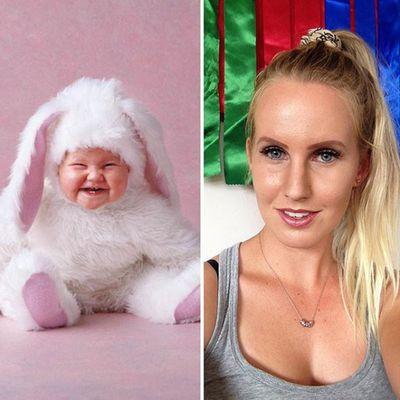 """""""Bunny baby"""" Deanna"""