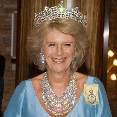 Camilla, Duchess of Cornwall: The Greville Festoon necklace & Greville tiara