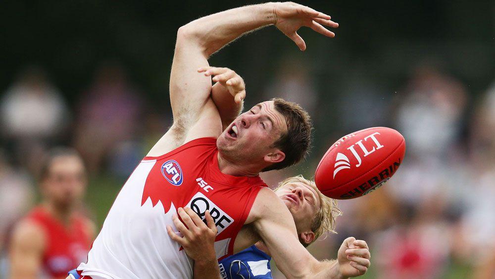 Roos edge Swans in AFL pre-season clash