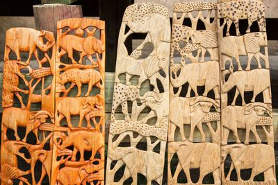 4. Handmade furniture and graffiti in South Africa