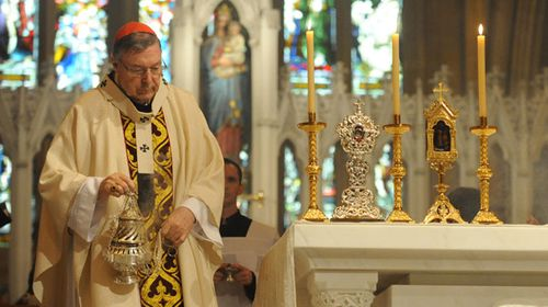 Archbishop of Sydney, Cardinal George Pell. (AAP)