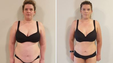 Brooke weight loss front