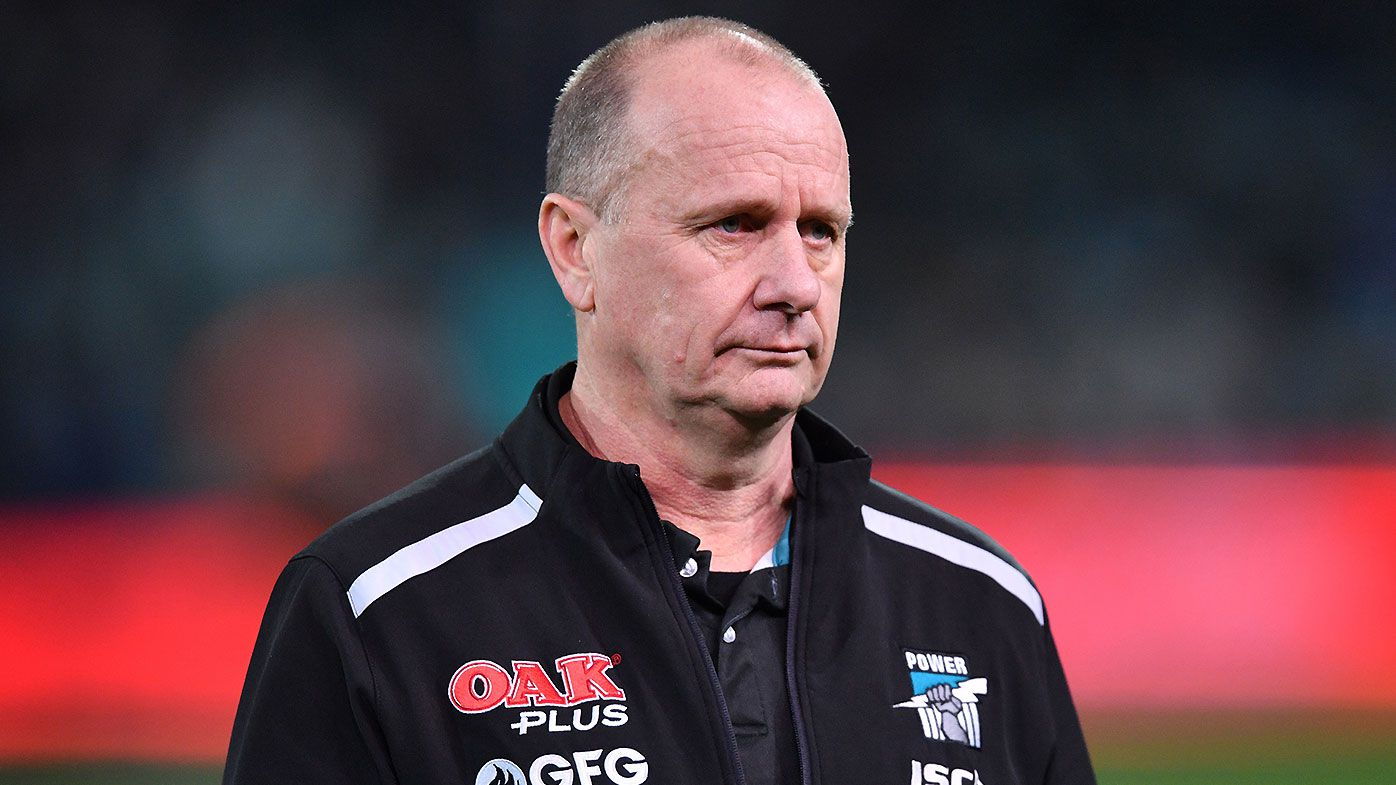 Port Adelaide coach Ken Hinkley bullish about club's future despite 'hollow' season