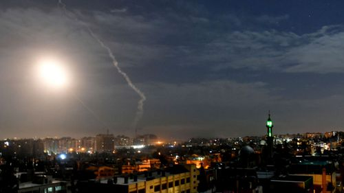 The Israel missiles tad Damascus airport, according to Syrian state media.
