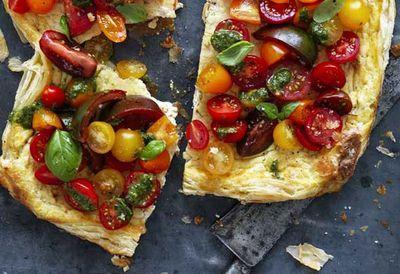 """<a href=""""http://kitchen.nine.com.au/2016/05/20/10/49/tomato-ricotta-tart"""" target=""""_top"""">Tomato ricotta tart</a>"""