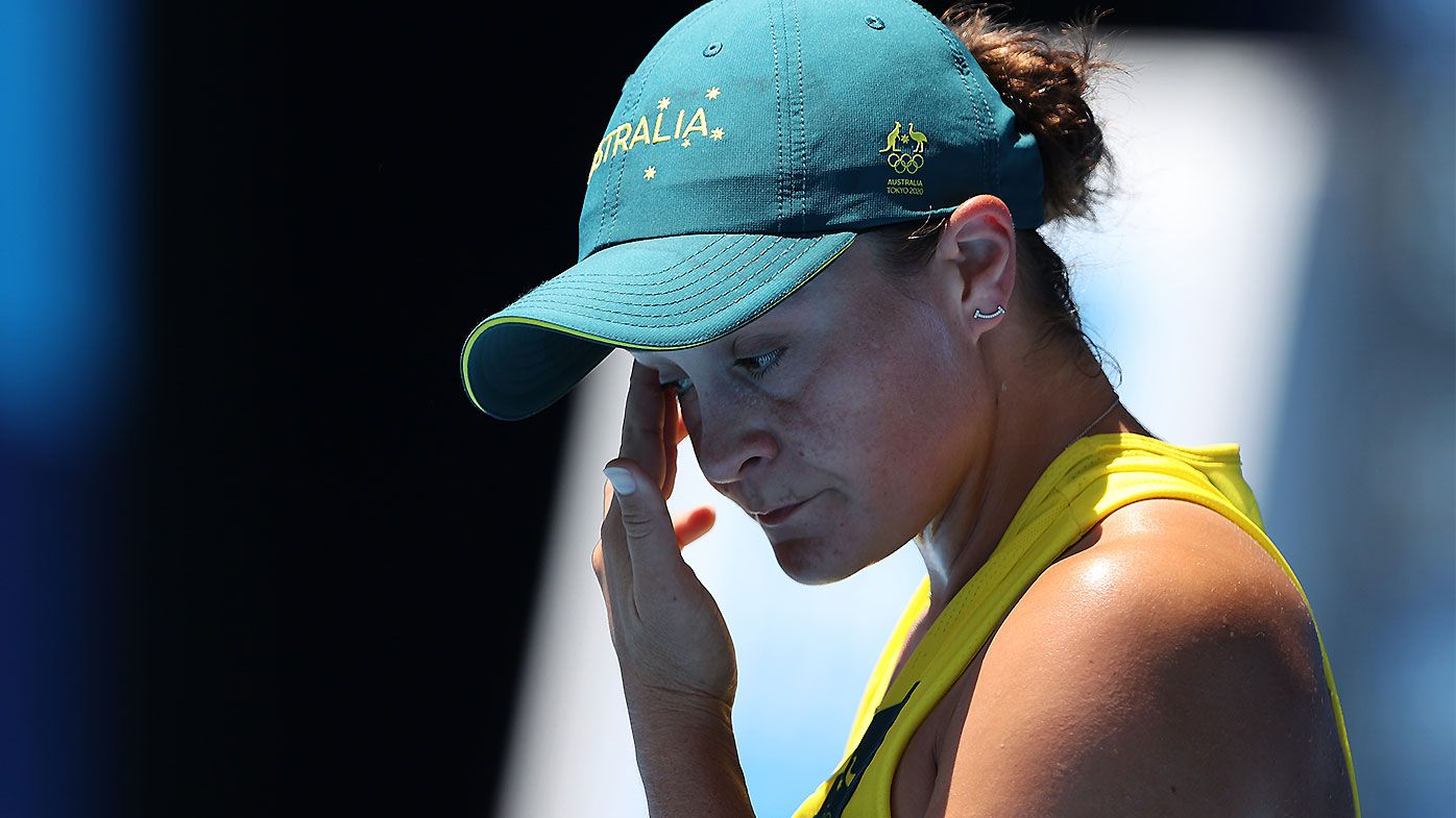 Barty crashes out of Olympics in shock loss