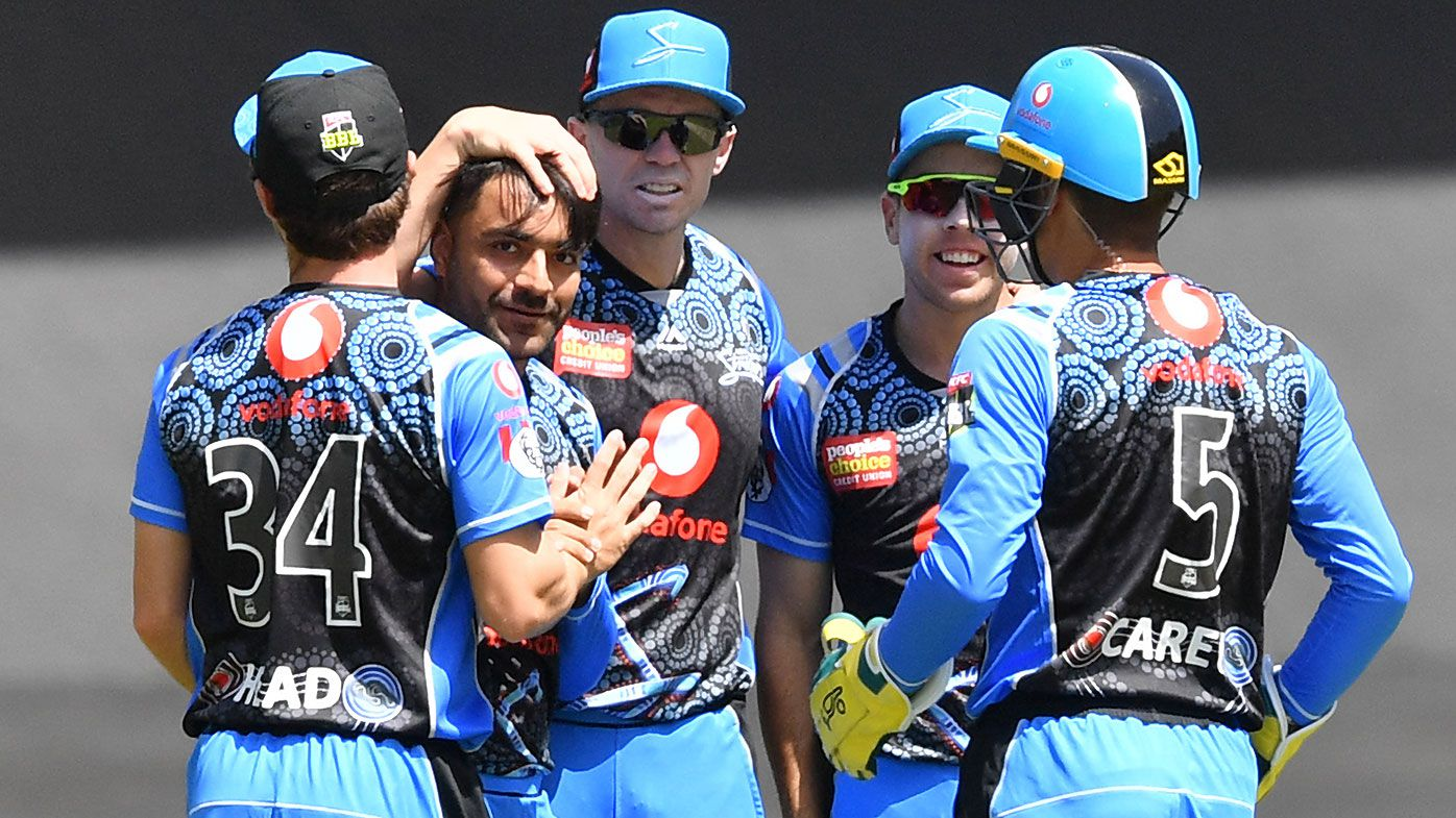 Adelaide Strikers avoid the dreaded wooden spoon with win over Perth Scorchers
