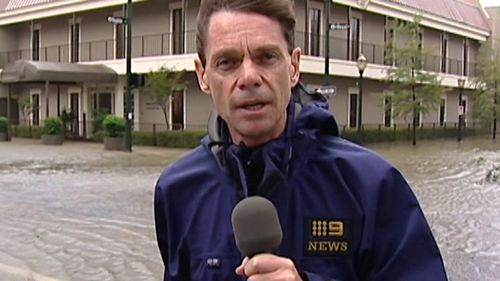 Penfold won a Walkley Award in 2006 for his coverage of Hurricane Katrina. (9NEWS)