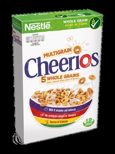 <strong>Cheerios (7.3 grams of fibre per 100 grams)</strong>