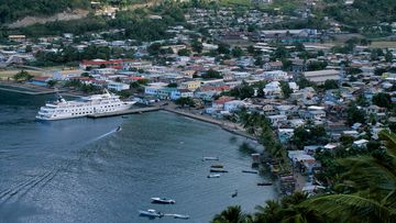 Undated file photo of St. Lucia.