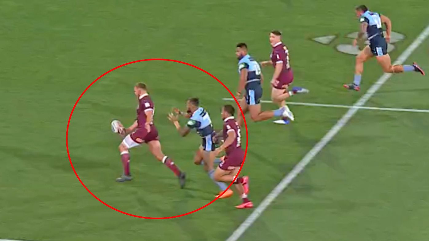 The extraordinary Kurt Capewell moment that sparked Maroons fightback