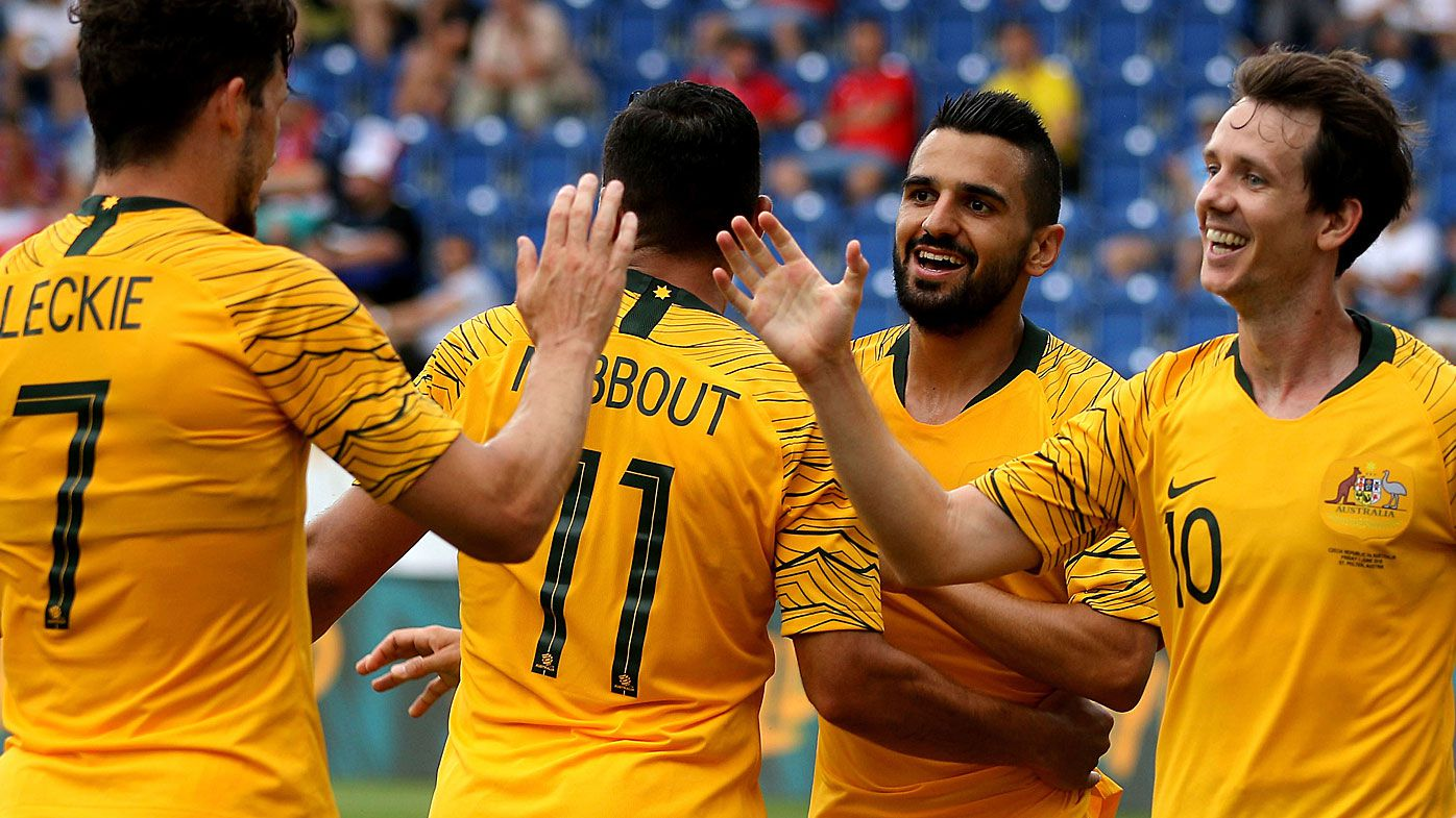Socceroos smash Czech Republic in friendly warm-up ahead of World Cup in Russia