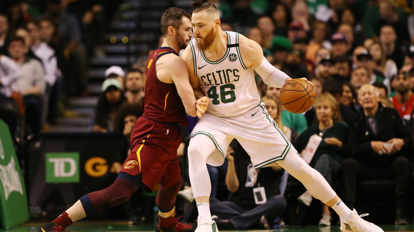 Aron Baynes' Boston Celtics thrash Cleveland Cavaliers in NBA Eastern Conference final opener