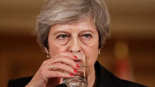 Theresa May is feeling the heat over Brexit.