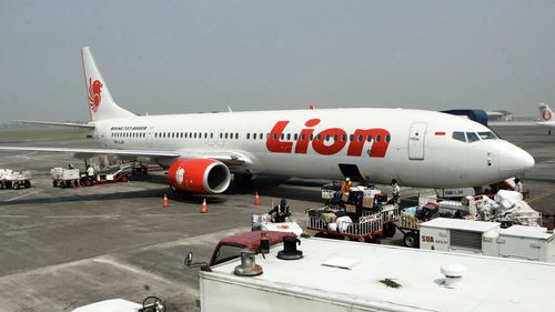 A Lion Air Boeing aircraft similar to the one that crashed.