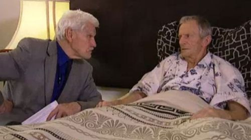 In December Dr Rodney Syme sat with long-term cancer sufferer Bernard Erica as he self-administered the life-ending drug Nembutal.