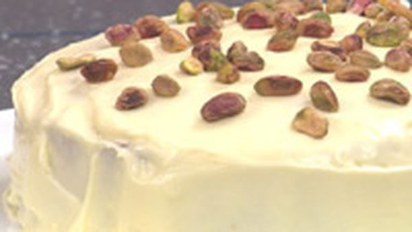 Orange and pistachio cake recipe