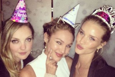 @rosiehw: Birthday party with my girls @heatherdmarks @angelcandices