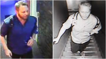 Police have released CCTV of a man wanted in relation to an indecent assault in a Camperdown massage parlour.