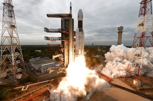 Chandrayaan-2's mission to the moon was launched successfully on 22 July 2019 from Sriharikota using the country's most powerful rocket Geosystems.