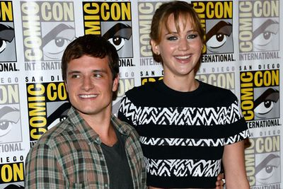 "Talk about a <i>Hunger Games</i> set! According to a source, Jennifer Lawrence ""broke down in tears during a London press trip"" because of her ""so-called friend"" Josh Hutcherson. TheFIX can smell a frenemy...<br><br>""She's completely overwhelmed and irritable,"" said the same source. ""They keep exploding at each other and she's told everyone their friendship is f------ over!! They don't even make eye contact unless they're shooting a scene."" <br>"