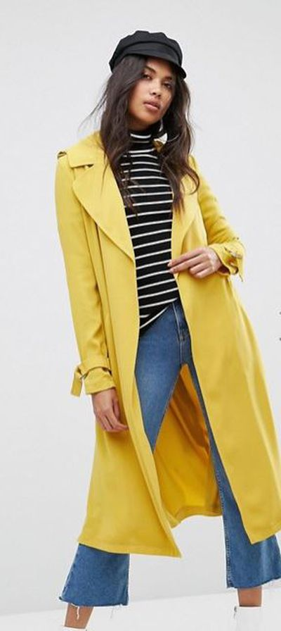 "<a href=""http://www.asos.com/au/river-island/river-island-belted-trench-coat/prd/8297002?clr=yellow&amp;SearchQuery=yellow&amp;pgesize=12&amp;pge=0&amp;totalstyles=12&amp;gridsize=3&amp;gridrow=2&amp;gridcolumn=2"" target=""_blank"" draggable=""false"">River Island Belted Trench Coat in Yellow, $129.95</a><br>"