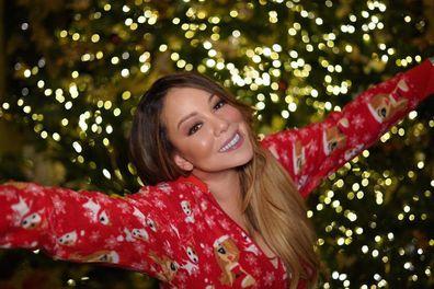 Mariah Carey, Christmas, celebrating
