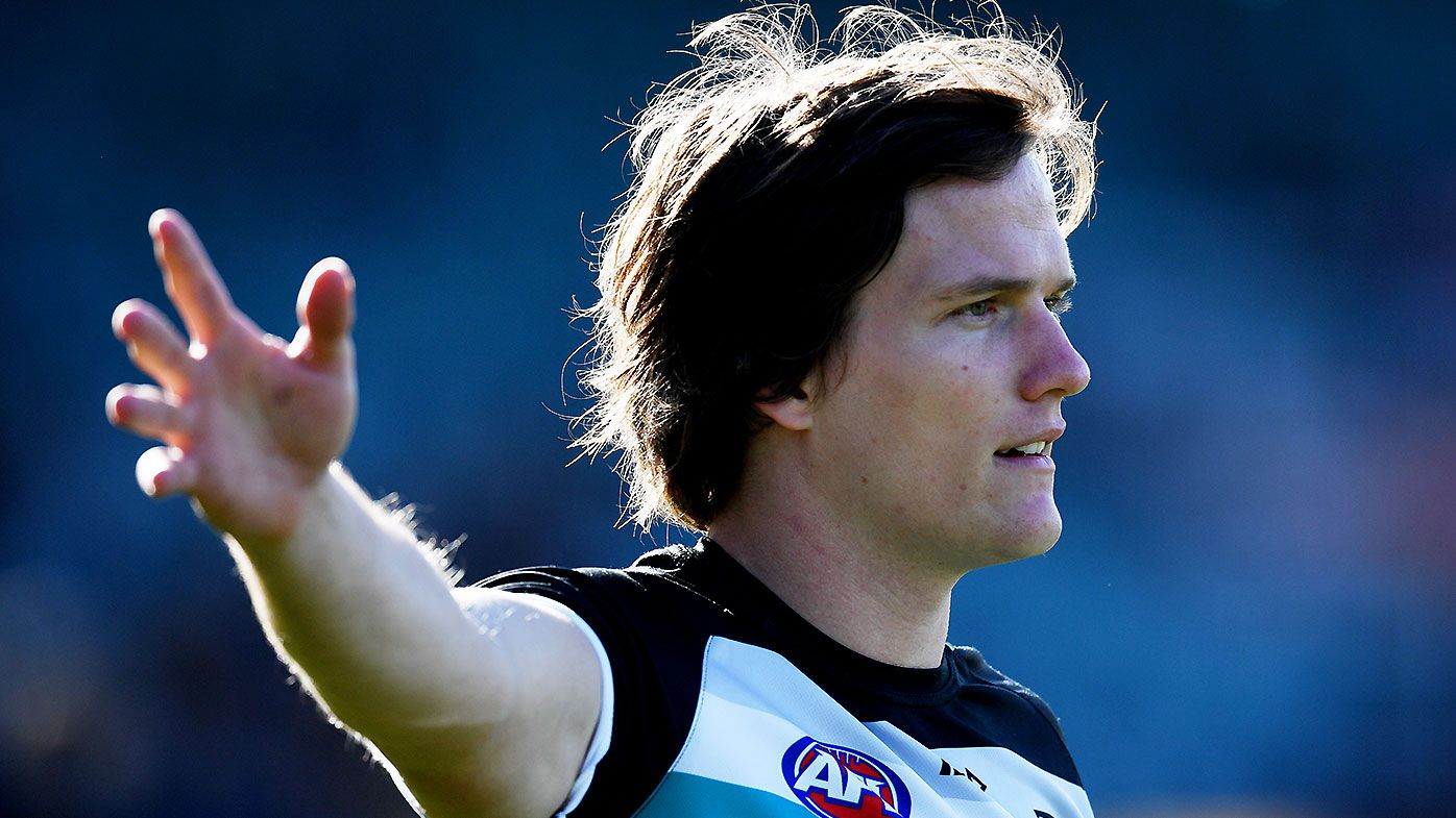 Port Adelaide star Jared Polec requests trade to North Melbourne