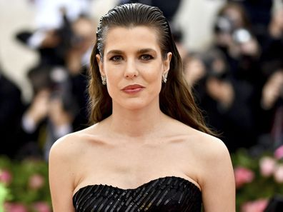 Charlotte Casiraghi at the Met Gala