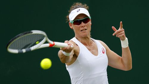 Samantha Stosur crashes out of Wimbledon in straight sets second round defeat