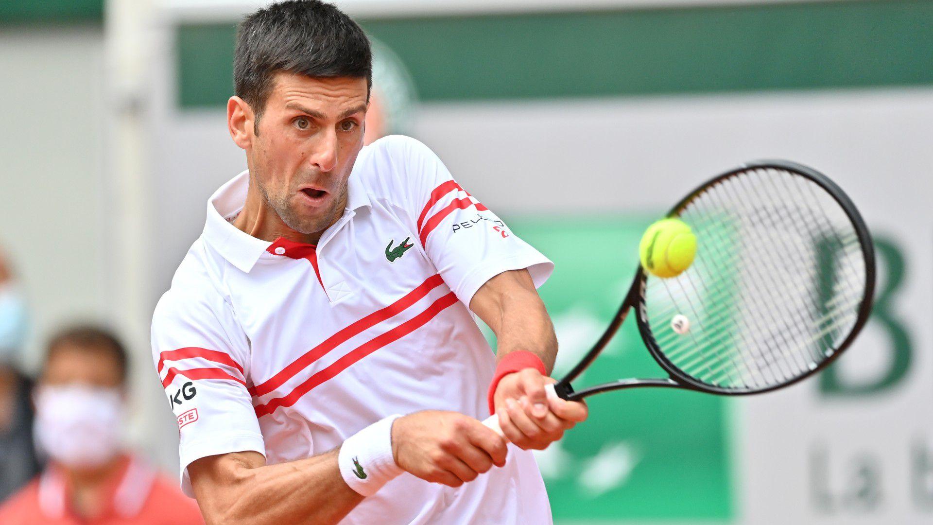 Novak Djokovic into quarters as Lorenzo Musetti retires in fifth set