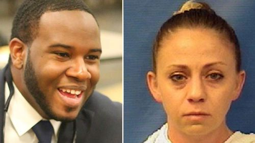 Amber Guyger shot Botham Shem Jean while off duty in Dallas and has been arrested. (Supplied)