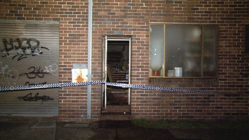 Police investigate fire at Botany (9News)