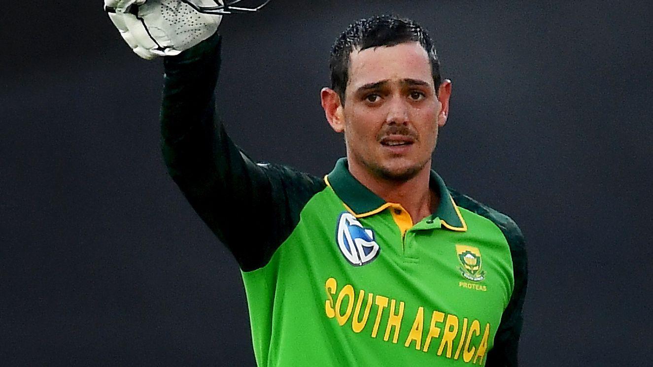 Quinton de Kock of South Africa.