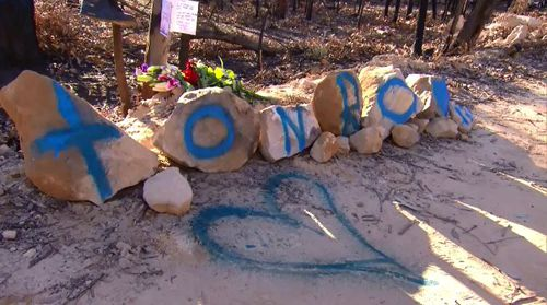 Friends of Aaron, who was known as 'Tonko', have also issued a warning for other 4WD drivers to know the risks of driving on tracks. Picture: 9NEWS.